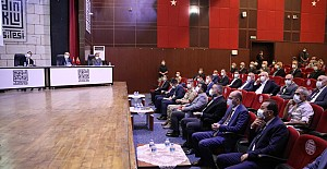 İl Koordinasyon Kurulu Vali Mahmut Demirtaş Başkanlığında Toplandı.