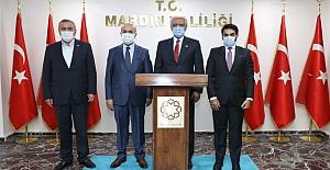 Kuveyt Ankara Büyükelçisi Al-Zawawi Vali Mahmut Demirtaş'ı Ziyaret Etti