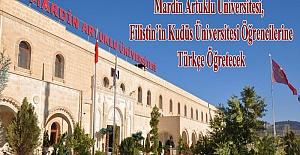 Mardin Artuklu Üniversitesi, Filistin'in Kudüs Üniversitesi Öğrencilerine Türkçe Öğretecek