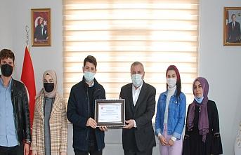 Midyat Gönüllüler Derneği, Başkan Şahin'i Ziyaret Etti
