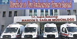 Yeni Ambulanslar Hizmete Başladı