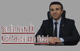BİK Temsilcisi Günbegi, '10 Ocak Çalışan Gazeteciler Günü'nü mesajı