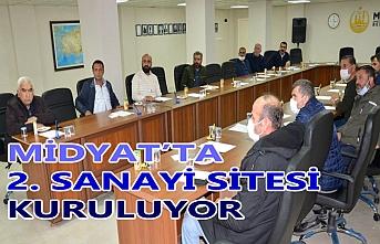 Midyat'ta 2. Sanayi Sitesi Kuruluyor