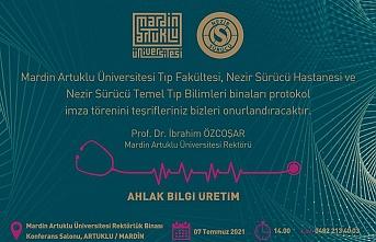 Mardin Tıp Fakültesi için İmzalar Atılıyor