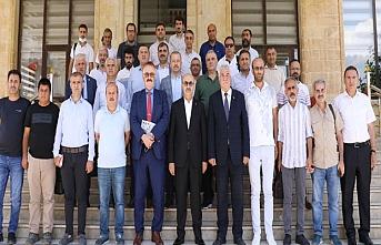 Vali Demirtaş, Gazetecilerle Bir Araya Geldi