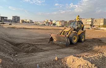 Nusaybin Kapalı Semt Pazarı Projesinin çalışmaları başladı