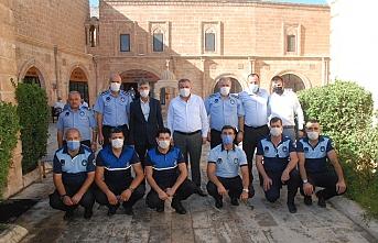 Başkan Şahin, personelinin Zabıta Haftası'nı kutladı