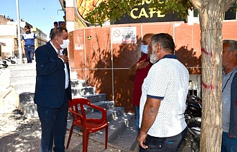 Midyat'ta, Yol ve kaldırım yenileme çalışmaları devam ediyor