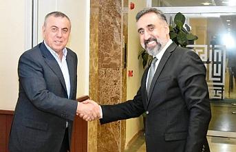 Başkan Şahin'den Rektör Özcoşar'a ziyaret