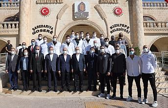 İçişleri Bakan Yardımcısı Mehmet Ersoy Mardin'de