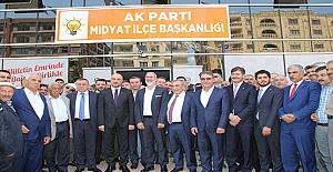 AK Parti Milletvekili Adayları Savur ve Midyat'ta