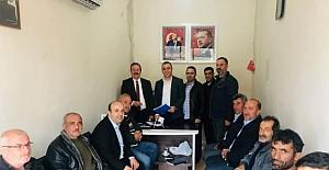 Oğuzhan Kaya, Savur Belediye Başkanlığı için aday adayı oldu