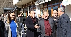 AK Parti'nin Savur Belediye Başkan adayı Kaya, projelerini anlattı