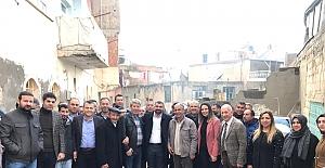 İl Başkanı Kılıç'tan Savur AK Partiye Ziyaret
