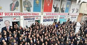 Midyat'ta AK Parti Seçim Koordinasyon Merkezleri Açılışı