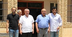 Katar Büyükelçisi, Midyat'ı ziyaret etti