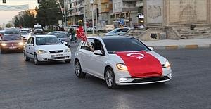 Midyat'ta Barış Pınarı Harekatına destek konvoyu