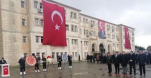 18 Mart 1915 Çanakkale Zaferi Sadece çelenk sunuldu