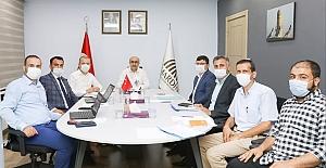 Büyükşehir Belediye Araç Takip Sistemi toplantısı yapıldı