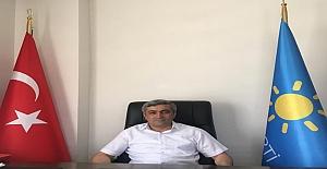 İyi parti Midyat İlçe Başkanı Demir Bayram, Mesajı