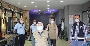 Midyat'ta Kovid-19 denetimleri sürüyor