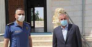 Mardin Emniyet Müdürlüğünden, Midyat ve Dargeçit'te ziyaret