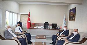 Belediye Başkanlarından, DEDAŞ'a ziyareti