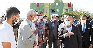Vali Demirtaş'tan Şehit Ailesine Taziye Ziyareti