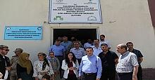 Midyat Kaymakamı Tekin'den Çatom'a Ziyaret