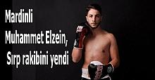 Mardinli Muhammet Elzein, Sırp rakibini yendi