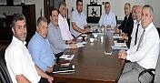 Başkan Şahin, MARSU İle toplantısı Gerçekleştirdi