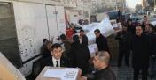 Midyat'tan Deprem bölgesine yardım seferberliği