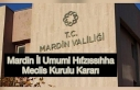 Mardin İl Umumi Hıfzıssıhha Meclis Kurulu Kararı