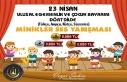 Midyat Belediyesi, 23 Nisan temalı müzik yarışması...
