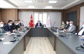 """Vali Demirtaş'ın Başkanlığında """"Pazaryerleri"""" Toplantısı Düzenlendi"""