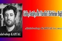 Gelin, Antalya İle Mardin'i Birbirine Bağlayalım