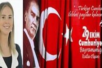 Milletvekili Bölünmez, 29 Ekim Cumhuriyet Bayramı Mesajı