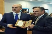 3. Turizm Şurasında DİKA Genel Sekreterine Turizm Beratı Verildi