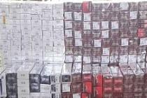 Artuklu'da 5 bin 100 Paket Kaçak Sigara Ele Geçirildi