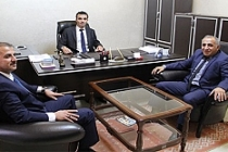SGK Müdürü Güneş, Avukatları Ziyaret Etti