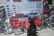 TIR Garajında 98 Bin 200 Paket Kaçak Sigara Ele Geçirildi