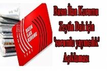 BİK'ten, Zeytin Dalı için 'sorumlu yayıncılık' Açıklaması