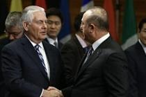 Dışişleri Bakanı Çavuşoğlu ve Tillerson'dan açıklamalar