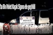 Midyat'ta Bin Paket Kaçak Sigara ele geçirildi