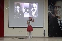 Midyat'ta İstiklal Marşı'nı güzel okuma yarışması düzenlendi