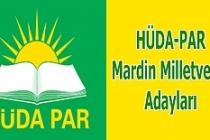 HÜDA PAR'ın Mardin Milletvekili Adayları