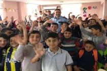 Midyat'ta Bütün Öğrencilere Trafik Eğitimi