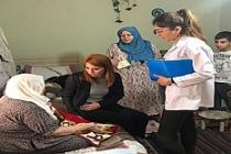 Mardin'de engelli ve hasta seçmenlere araç