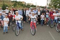 Midyat'ta Çocuklar Sağlıklı Yaşam İçin Pedal Çevirdi