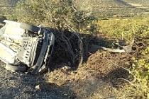 Savur'da trafik kazası 5 yaralı